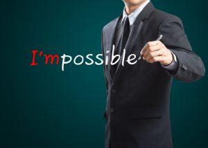 איך להפוך את הבלתי אפשרי לאפשרי