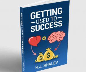 הספר להתרגל להצליח באנגלית הושק באמזון
