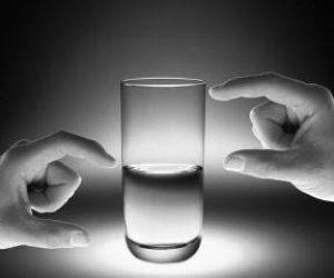 להתמקד בחצי הכוס המלאה